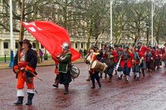 English Civil War Society Royalty Free Stock Photography