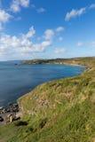 English coast path Kenneggy Cornwall UK Stock Images