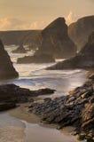 English Coastline Stock Photo