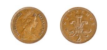 English coin Stock Image