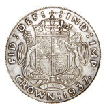 English coin from silver Stock Photos