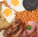 English Cooked Breakfast Royalty Free Stock Photo