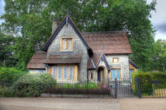 English Cottage. Typical English Country Cottage and country garden Royalty Free Stock Photo