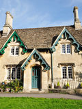 English Cottage. Old English Stone Cottage House Built in the Victorian Era Stock Photography