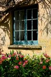 English Cottage and garden. English country cottage and spring flowers, ideal holiday/vacation destination Stock Photography