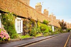 English cottages royalty free stock photo