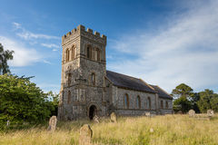 English Country Churchyard Royalty Free Stock Images