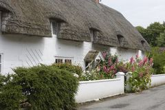 English country cottage. Avebury. England Royalty Free Stock Photos