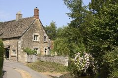 English country cottage. Wiltshire. England Royalty Free Stock Images