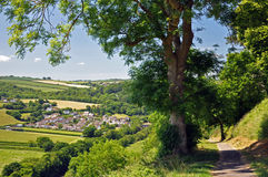 English Country Footpath Royalty Free Stock Images