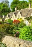 English Country Garden The Coltswolds, England. A beautiful garden located in The Cotswolds, England Royalty Free Stock Photography