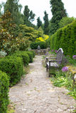 English Country Garden Stock Photo