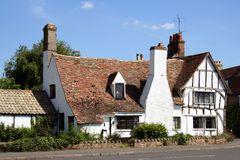 English country house Royalty Free Stock Images