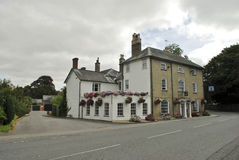 English country house. Pub in english countru in south of england near canterbury Stock Images