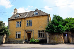 English Country house in Cotswolds, England, UK Royalty Free Stock Photos