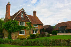 Detached  English Country house Royalty Free Stock Photos
