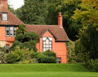 English Country House and Garden Stock Photo