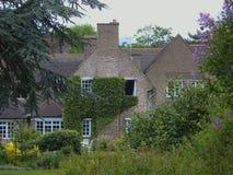 English Country House and Garden Stock Photos