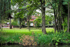 English Country House Royalty Free Stock Photography