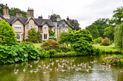 English Country House Stock Image