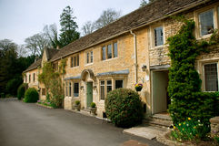 English country houses Stock Image