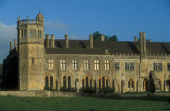 English Country Mansion Royalty Free Stock Photos