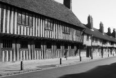 English Country Village. Stratford Upon Avon, English rural country village Stock Image