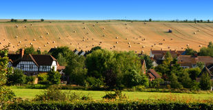 English Country Village. In summer time Royalty Free Stock Photo