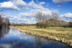 English countryside. The English countryside in spring. Near Winchester, Hampshire,UK Royalty Free Stock Photography