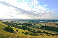English countryside Royalty Free Stock Photos