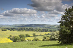 English countryside in the chiltern valley Stock Photos