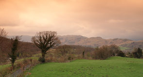 English countryside, Cumbria Royalty Free Stock Photo