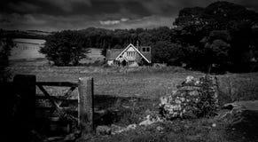 English countryside house stock photography