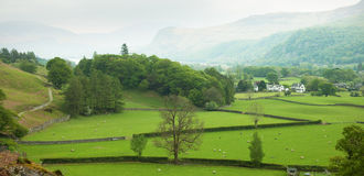 English Countryside In Spring Royalty Free Stock Photo
