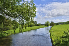 English Countryside River royalty free stock photo