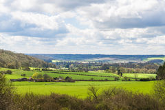 English countryside in the spring Hertfordshire, UK Stock Photo