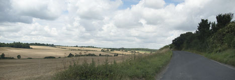 English countryside. In summer time Stock Photo
