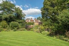 English Country Garden in the summer Royalty Free Stock Photos