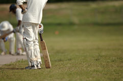 English Cricket. Cricket Game royalty free stock photos