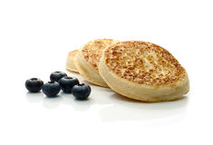English Crumpet (Pikelet) Stock Photography