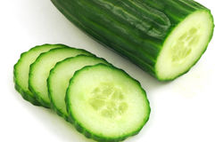 English cucumber Stock Photos