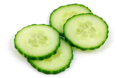 English Cucumber Stock Image