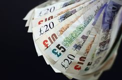 English currency Royalty Free Stock Photography