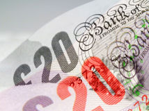 English currency Royalty Free Stock Images