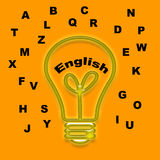 English d'adobe Photos libres de droits