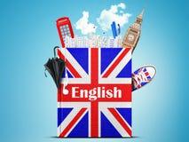 English del adobe Imagenes de archivo
