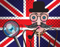 English detective Stock Images