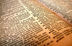 English dictionary Stock Images
