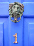 English door (number one). Sussex village doorway Royalty Free Stock Photo