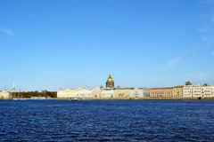 The English embankment in St.Petersburg Stock Images